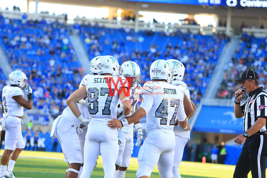 The Eastern Michigan University football team competed at the University of Kentucky on September 30, 2017
