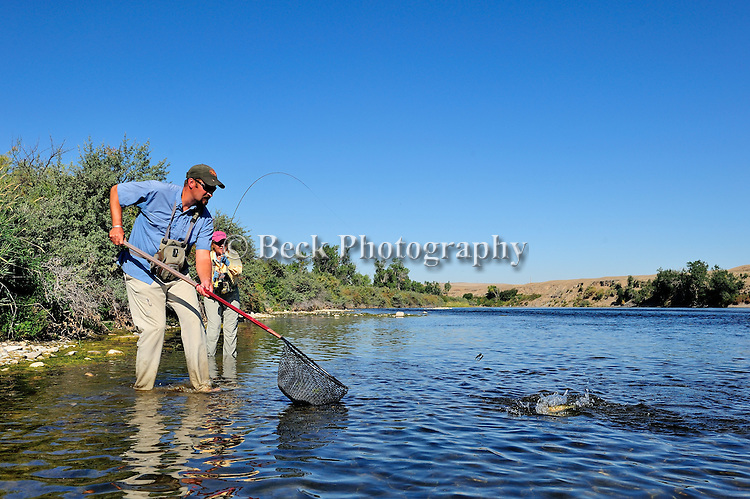Fly Fishing the BIGHORN RIVER FORT SMITH MONTANA
