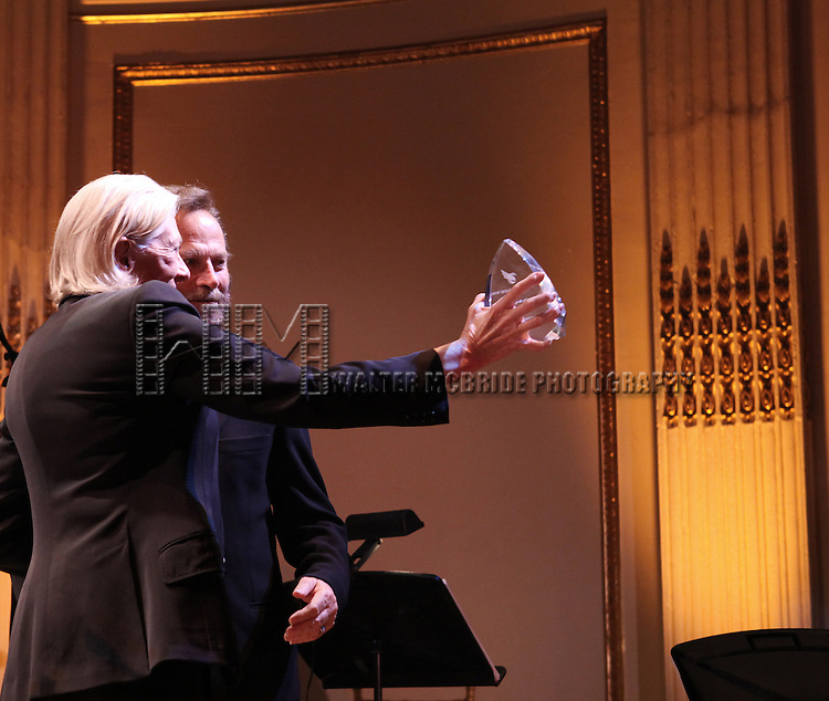 Vanessa Redgrave, Franco Nero  attending the American Theatre Wing's annual gala at the Plaza Hotel on Monday Sept. 24, 2012 in New York.