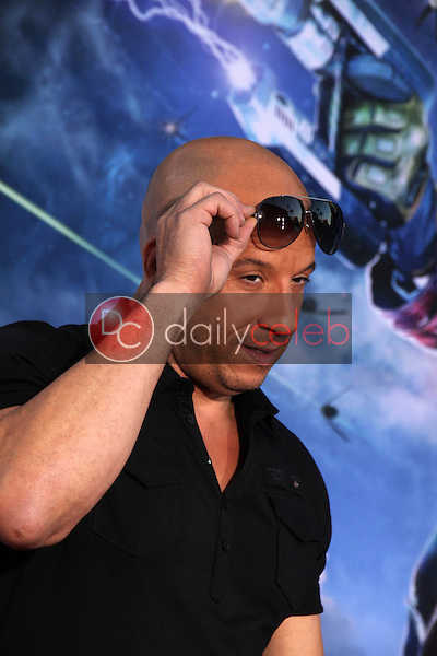 """Vin Diesel<br /> at the """"Guardians Of The Galaxy"""" Premiere, Dolby Theater, Hollywood, CA 07-21-14<br /> David Edwards/Dailyceleb.com 818-249-4998"""