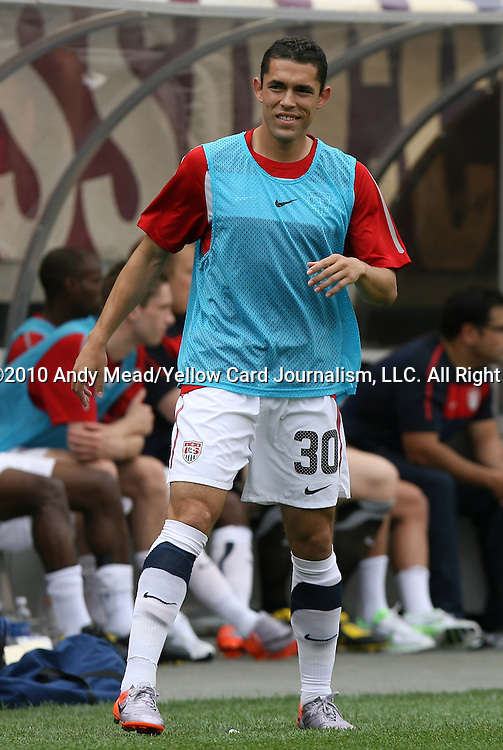29 May 2010: Herculez Gomez (USA). The United States Men's National Team defeated the Turkey Men's National Team 2-1 at Lincoln Financial Field in Philadelphia, Pennsylvania in the final home warm up match to the 2010 FIFA World Cup in South Africa.