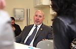 United States Representative Thomas MacArthur visits Community Medical Center in Toms River, NJ
