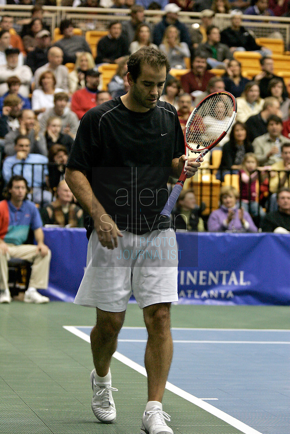 Pete Sampras at The FedEx Shootout Atlanta at Kennesaw State University on Saturday, Dec. 9, 2006.