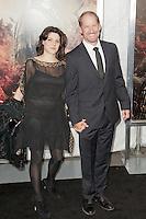 """Bill Cowher e sua moglie..Anteprima di """"La Furia dei Titani"""".. """"Wrath of the Titans""""..AMC Lincoln Square Theater..26/03/2012, New York..Foto Insidefoto / Marco Sagliocco....Only Italy"""