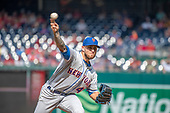 New York Mets relief pitcher Tyler Bashlor (49) works in the eighth inning against the Washington Nationals at Nationals Park in Washington, D.C. on Monday, September 2, 2019.  The Mets won the game 7 - 3.<br /> Credit: Ron Sachs / CNP<br /> (RESTRICTION: NO New York or New Jersey Newspapers or newspapers within a 75 mile radius of New York City)