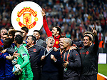 Manchester United manager Jose Mourinho celebrates after the UEFA Europa League Final match at the Friends Arena, Stockholm. Picture date: May 24th, 2017.Picture credit should read: Matt McNulty/Sportimage