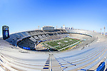 The Cotton Bowl Stadium starts to fill up with fans and players before the Heart of Dallas Bowl game between the North Texas Mean Green and the UNLV Rebels at the Cotton Bowl Stadium in Dallas, Texas. UNT defeats UNLV 36 to 14.
