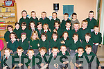 All the junior infants who started Firies NS last week front row l-r: Jordan Hood, Josh Campbell, Dylan Butler, David Breen-Riordan, Christopher Palmer, John Power, Patrick Kearney, Adam Cronin. Second row: Laura O'Connor, Alianne Fleming, Aela O'Connor-Metso, Katie O'Sullivan, Ellen O'Sullivan, Aoibheann Cronin, Jessica Doody, Brid Clifford. Third row: Mellissa Darlington, Elaine Kerrisk, Lisa O'Halloran, Molly Wakeman, Leah McCarthy, Emma Affonso, Muireann Ring, Cian Sheehan, Patrick Daly, Aaron Nealon, Ethan Campbell. Back row: JP Teahan, Tomas Clifford, Peter Cosgrave, Alex Doyle-Quinn, Daniel Cremin, Luke Foley and Liam O'Driscoll    Copyright Kerry's Eye 2008