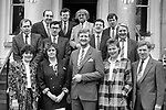 The first finance committee for Kerry airport in the 1980's.<br /> Picture: macmonagle archive<br /> e: info@macmonagle.com