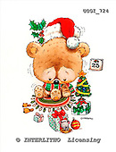 GIORDANO, CHRISTMAS ANIMALS, WEIHNACHTEN TIERE, NAVIDAD ANIMALES, paintings+++++,USGI724,#XA#