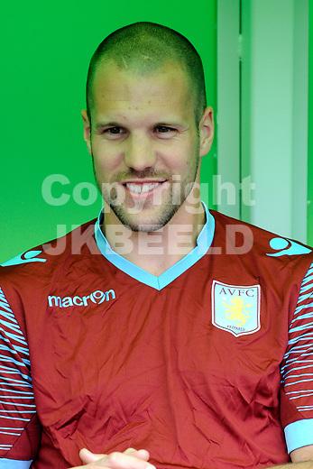 GRONINGEN - Voetbal, FC Groningen - Aston Villa, voorbereiding seizoen 2014-2015, 02-08-2014,  Ron Vlaar