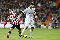 Real Madrid CF vs Athletic Club de Bilbao (5-1) at Santiago Bernabeu stadium. The picture shows Iker Muniain and Xabi Alonso. November 17, 2012. (ALTERPHOTOS/Caro Marin) NortePhoto