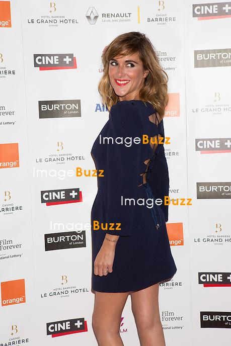 Victoria Bedos lors de la soir&eacute;e d'ouverture du 27&egrave;me Festival du film britannique de Dinard. <br /> France, Dinard, 29 septembre 2016.<br /> Opening night of 27th Edition of the Dinard British Film Festival.<br /> France, Dinard, 29 September 2016.