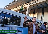 ATENÇÃO EDITOR: FOTO EMBARGADA PARA VEÍCULOS INTERNACIONAIS. SAO PAULO, SP, 04 SETEMBRO 2012 - ELEICOES SP - CELSO RUSSOMANNO - O candidato a prefeitura de Sao Paulo pelo PRB Celso Russomanno durante visita ao Mercado Municipal do Ipiranga na tarde desta terca-feira, 04. (FOTO: VANESSA CARVALHO / BRAZIL PHOTO PRESS).