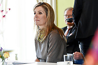 www.acepixs.com<br /> <br /> US and Canada Only<br /> <br /> March 12 2018, The Hague<br /> <br /> Queen Maxima during the opening of the 8th National Money week and the 7th edition of the Global Money week 2018 at the Koninklijke Schouwburg on March 12 2018 in The Hague.<br /> <br /> <br /> By Line: Scoop/ACE Pictures<br /> <br /> <br /> ACE Pictures Inc<br /> Tel: 6467670430<br /> Email: info@acepixs.com<br /> www.acepixs.com