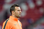 FC Internazionale Goalkeeper Samir Handanovic Warming up during the International Champions Cup match between FC Bayern and FC Internazionale at National Stadium on July 27, 2017 in Singapore. Photo by Weixiang Lim / Power Sport Images