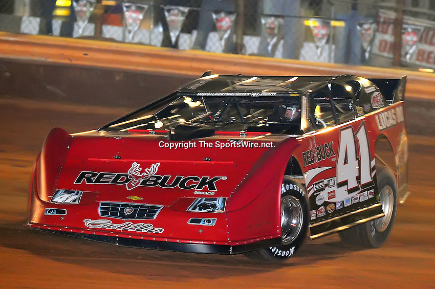 Jan 28, 2010; 7:00:22 PM; Waynesville, GA., USA; The Southern All Stars Racing Series running The Super Bowl of Racing VI at Golden Isles Speedway.  Mandatory Credit: (thesportswire.net)