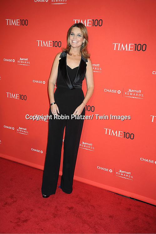 Savanah Gutherie attends The Time 100 Most Influential People in the World Gala on April 24, 2012 at Frederick P Rose Hall at Lincoln Center in New York City. .