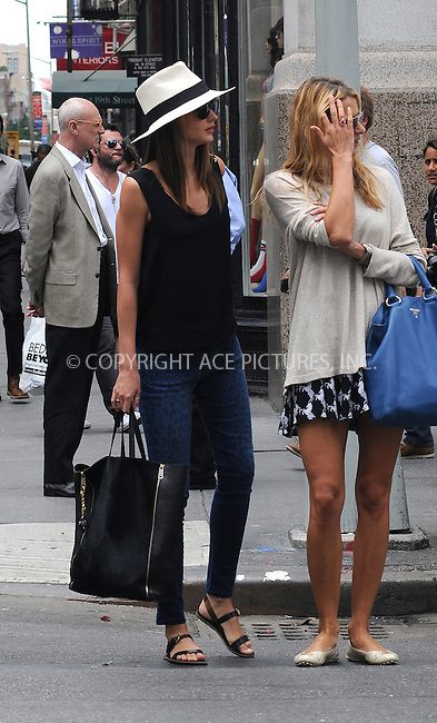 WWW.ACEPIXS.COM ************....June 26 2012, New York City....Model Miranda Kerr (L) takes a walk with a friend in Chelsea on June 26 2012 in New York City....Please byline: CURTIS MEANS - ACE PICTURES.. *** ***  ..Ace Pictures, Inc:  ..tel: (646) 769 0430..e-mail: info@acepixs.com..web: http://www.acepixs.com