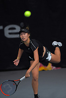 Vivian Yang. 2019 Wellington Tennis Open at Renouf Centre in Wellington, New Zealand on Saturday, 21 December 2019. Photo: Dave Lintott / lintottphoto.co.nz