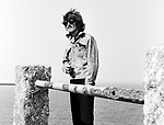 Beatles George Harrison during Magical Mystery Tour September 1967.© Chris Walter.