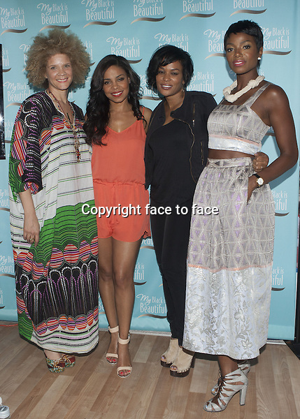 NEW YORK, NY - JUNE 19: Sanaa Lathan and Tai Beauchamp at P&amp;G Community Roundtable Hosted by My Black is Beautiful at Herald Square on June 19, 2013 in New York City.<br /> Credit: MediaPunch/face to face<br /> - Germany, Austria, Switzerland, Eastern Europe, Australia, UK, USA, Taiwan, Singapore, China, Malaysia, Thailand, Sweden, Estonia, Latvia and Lithuania rights only -