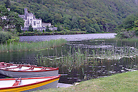 Kylemore Abbey is a Benedictine monastery founded in 1920 on the grounds of Kylemore Castle, in Connemara, County Galway, Ireland. The abbey was founded for Benedictine Nuns who fled Belgium in World War I.