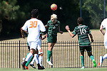20 September 2015: Stetson's Jeppe Moe (NOR) (2). The Campbell University Camels hosted the Stetson University Hatters at Eakes Athletics Complex in Buies Creek, NC in a 2015 NCAA Division I Men's Soccer game. Campbell won the game 1-0.