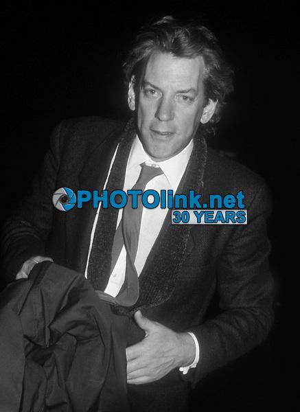 Donald Sutherland1984<br /> Photo By John Barrett/PHOTOlink