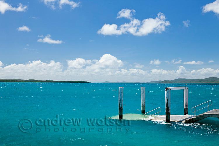 Engineers Wharf.  Thursday Island, Torres Strait Islands, Queensland, Australia