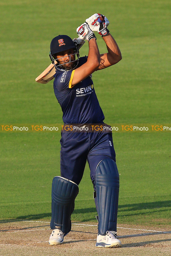 Ravi Bopara in batting action for Essex during Essex Eagles vs Essex Premier Leagues XI, T20 Friendly Match Cricket at the Essex County Ground on 12th May 2016