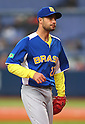 Rafael Fernandes (BRA), .February 26, 2013 - WBC : .2013 World Baseball Classic, Exhibithion Game .match between Brazil 2-6 ORIX Buffaloes .at Kyocera Dome, Osaka, Japan..(Photo by AJPS/AFLO SPORT)