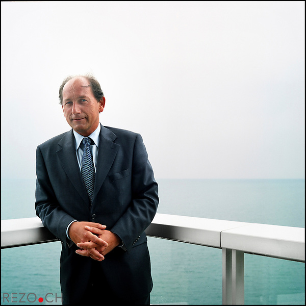 Paul Bulcke, CEO de Nestle. Vevey, mai 2008.