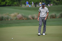 Geoff Ogilvy (AUS) watches his putt on 2 during round 1 of the Houston Open, Golf Club of Houston, Houston, Texas. 3/29/2018.<br /> Picture: Golffile | Ken Murray<br /> <br /> <br /> All photo usage must carry mandatory copyright credit (© Golffile | Ken Murray)