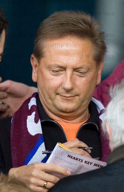 Vladimir Romanov, Hearts.stock season 2005-2006.pic willie vass