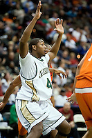 February 25, 2010:    Jacksonville center Glenn Powell (44) during Atlantic Sun Conference action between the Jacksonville Dolphins and the Campbell Camels at Veterans Memorial Arena in Jacksonville, Florida.  Jacksonville defeated Campbell 65-52.
