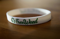 Il braccialetto del Progetto Freeweed - The Freeweed Project's bracelet