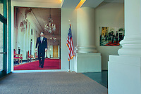 Ronald Reagan Presidential Library and Museum  exhibit  Simi Valley California