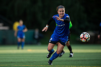 Seattle, WA - Saturday April 22, 2017: Christine Nairn during a regular season National Women's Soccer League (NWSL) match between the Seattle Reign FC and the Houston Dash at Memorial Stadium.