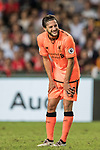 Liverpool FC midfielder Adam Lallana reacts  during the Premier League Asia Trophy match between Liverpool FC and Crystal Palace FC at Hong Kong Stadium on 19 July 2017, in Hong Kong, China. Photo by Weixiang Lim / Power Sport Images