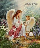 Dona Gelsinger, CHRISTMAS CHILDREN, angels, paintings(USGE9722,#XK#) Engel, angeles