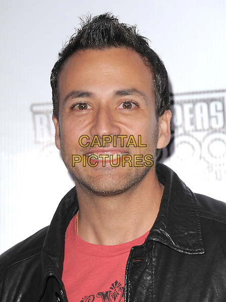 HOWIE DOROUGH.The Black Eyed Peas & Friends Peapod Benefit Concert held at The Music Box in Hollywood, California, USA..February 10th, 2011.BEP headshot portrait leather pink black .CAP/RKE/DVS.©DVS/RockinExposures/Capital Pictures.