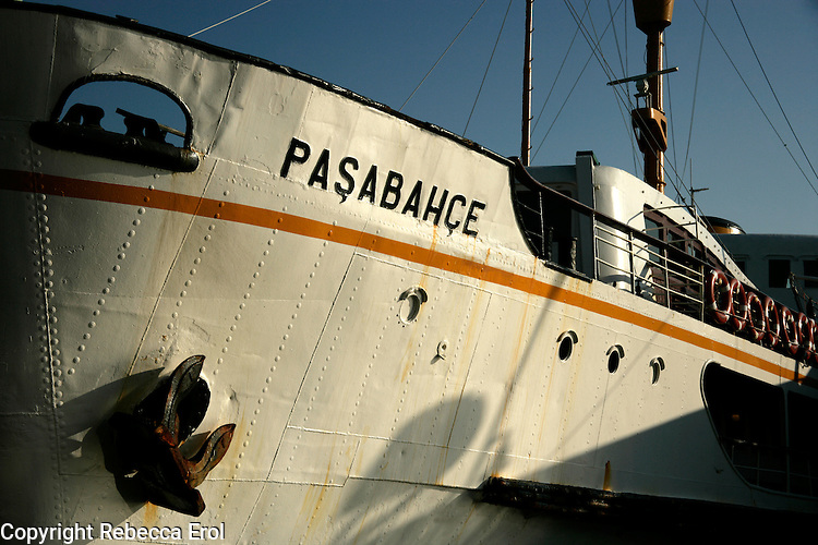 Ferry boat, Istanbul, Turkey