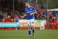 David Wheater of Oldham Athletic during Crawley Town vs Oldham Athletic, Sky Bet EFL League 2 Football at Broadfield Stadium on 7th March 2020