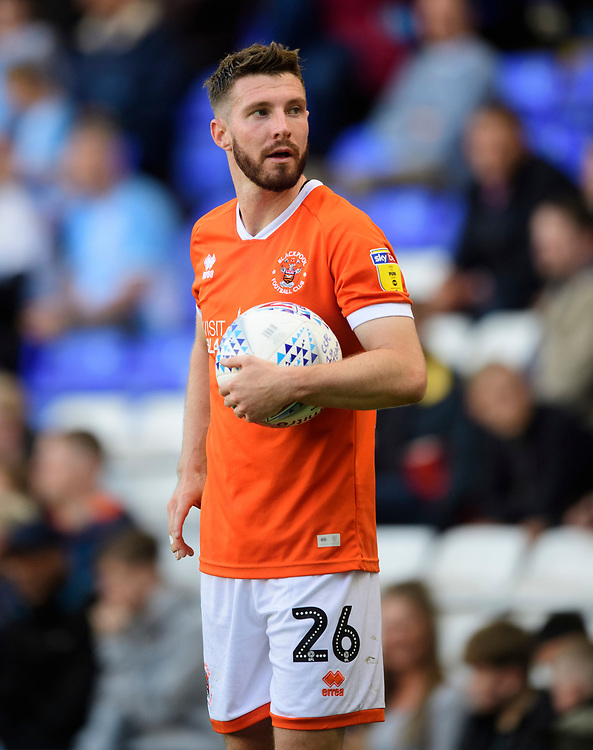 Blackpool's James Husband<br /> <br /> Photographer Chris Vaughan/CameraSport<br /> <br /> The EFL Sky Bet League One - Coventry City v Blackpool - Saturday 7th September 2019 - St Andrew's - Birmingham<br /> <br /> World Copyright © 2019 CameraSport. All rights reserved. 43 Linden Ave. Countesthorpe. Leicester. England. LE8 5PG - Tel: +44 (0) 116 277 4147 - admin@camerasport.com - www.camerasport.com