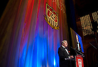 Bob Ley. US Soccer held their Centennial Gala at the National Building Museum in Washington DC.