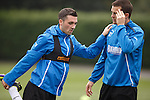Nicky Clark and Jon Daly