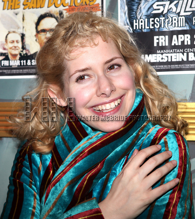 Nellie McKay attending The 24 Hour Musicals After Party at the Gramercy Theatre in New York City.