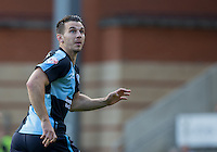 Matt Bloomfield of Wycombe Wanderers during the Sky Bet League 2 match between Leyton Orient and Wycombe Wanderers at the Matchroom Stadium, London, England on 19 September 2015. Photo by Andy Rowland.