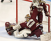 Kaliya Johnson (BC - 6), Blake Bolden (BC - 10), Corinne Boyles (BC - 29) - The Northeastern University Huskies defeated Boston College Eagles 4-3 to repeat as Beanpot champions on Tuesday, February 12, 2013, at Matthews Arena in Boston, Massachusetts.